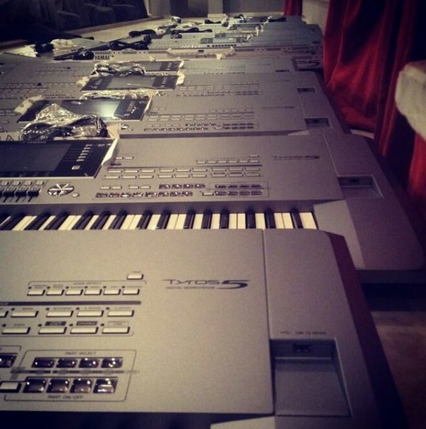 Yamaha keyboard tyros 5 price