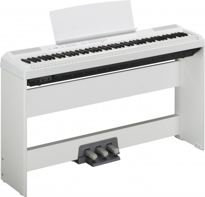Yamaha P115 88 Key Digital Piano White With Cf Grand Sampling P115wh