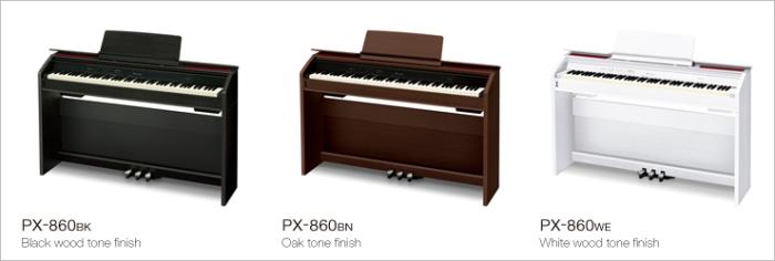 Casio PX860 colors
