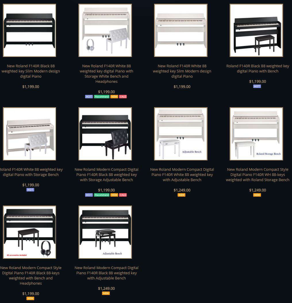 roland f140r review best price digital piano best review. Black Bedroom Furniture Sets. Home Design Ideas