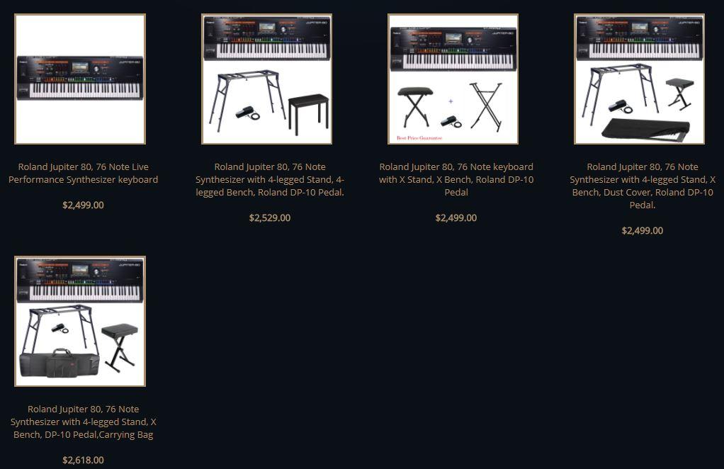 roland jupiter 80 review comparison best price digital piano best review. Black Bedroom Furniture Sets. Home Design Ideas