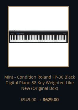 Roland FP 30 polyphony | Digital Piano Best Review