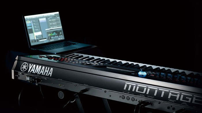 Yamaha Montage Streamlined Workflow