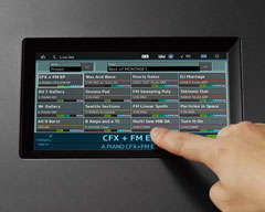 Yamaha Montage Touch Screen