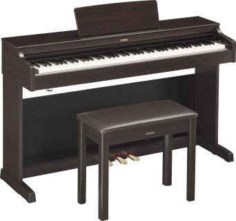 Yamaha YDP163 rosewood with bench