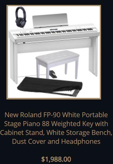 roland fp90 bundle