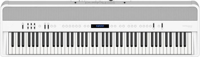 Roland FP90 white topview
