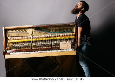 moving piano