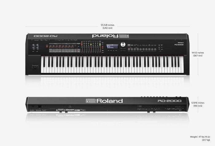Roland RD 2000 main