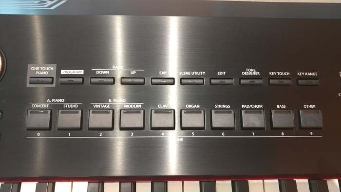 roland rd2000 controls