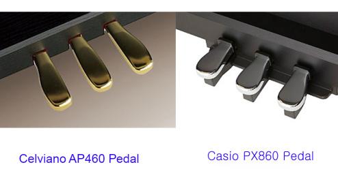 AP460 pedals