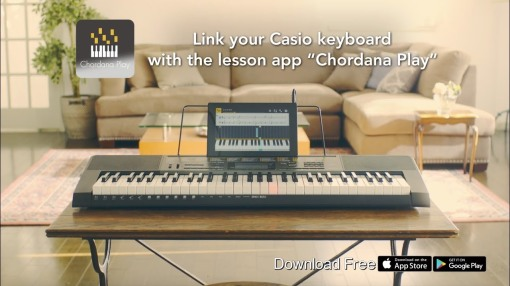 Casio Chordana Play app