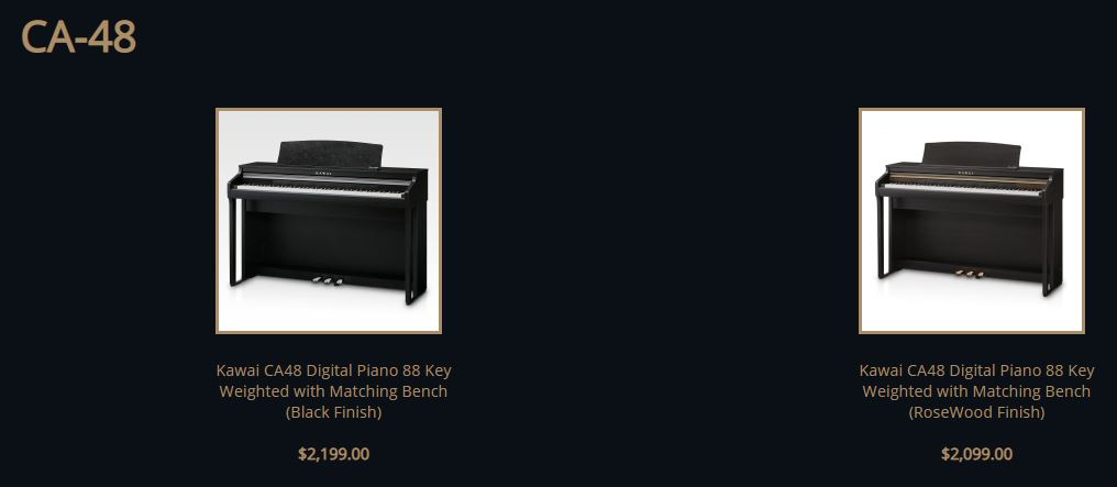 Kawai CS48 price